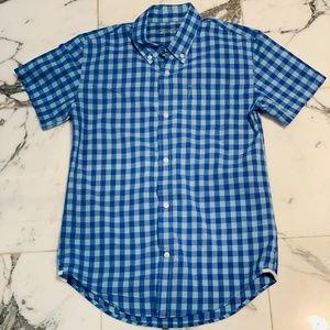 Boy's Crew Cuts Short Sleeve Button Up Shirt